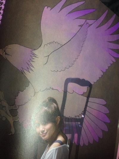 「来来来来来」パンフレット装飾/佐津川愛美さん